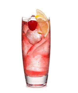 Chambord vodka limonádé